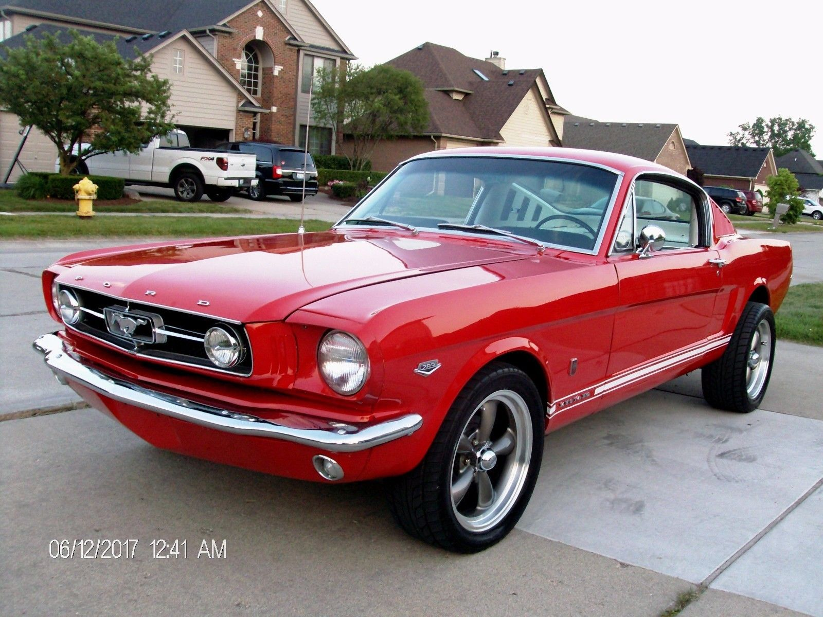 ford mustang 1965 fastback 2 2 original mustang import parts. Black Bedroom Furniture Sets. Home Design Ideas